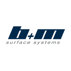 b+m surface systems GmbH Logo